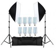 Kit De Iluminação Pk-sb01 Lampada Led Bivolt