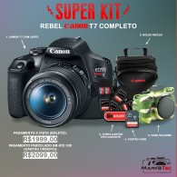 Super Kit Canon Rebel T7