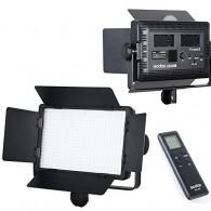 Iluminador de Led Godox 500c Bi-Color Com fonte