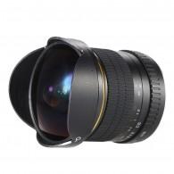 Lente Kelda 8mm F3.5 Olho De Peixe Para Canon Manual
