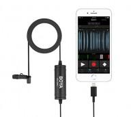 Microfone De Lapela Digital Boya By-dm1 P/ Iphone Ipad Ipod