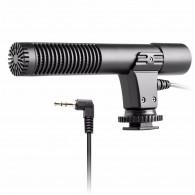Microfone Para Camera Fotografica Canon Nikon Sony Estereo
