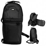 Mochila Fotográfica Transversal Canon Nikon Easy EC-8825-FE