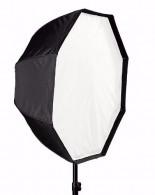 Octabox Sombrinha 120cm Universal Para Flashes Luz Continua