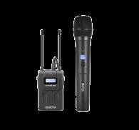Kit Microfone Boya By-wm8 Pro-k3 Microfone De Mão e Lapela