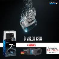 GoPro Hero 7 Black Oficial + Cartão Extreme 32gb + Brindes