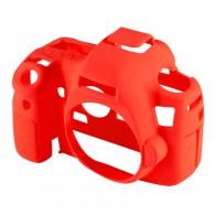 Capa / Case Silicone Para Proteção Canon EOS 6D Vermelho