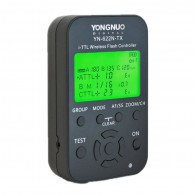 Transmissor Rádio Flash Yongnuo Yn622n Tx I-ttl Tela De Lcd P/ Nikon