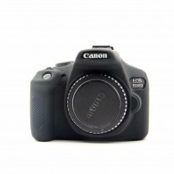 Capa / Case Silicone Para Proteção Canon T6 1300d / T5 1200d Preto