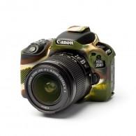 Capa / Case Silicone Para Proteção Canon SL2 / 200d Camuflada