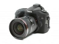 Capa / Case Silicone Para Proteção Canon Eos 70d - Preta