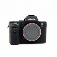 Capa / Case Silicone Proteção Sony Alpha A7rii A7ii A7sii Preta
