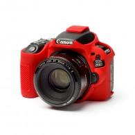 Capa / Case Silicone Para Proteção Canon SL2 / 200d Vermelho