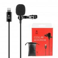 Microfone Lapela Omnidirecional Para iPhone Yc-lm10