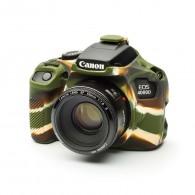 Capa / Case Silicone Proteção Canon T100 / 4000D - Camuflada