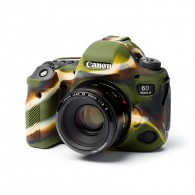 Capa / Case Silicone Para Proteção Canon EOS 6D Mark II Camuflado