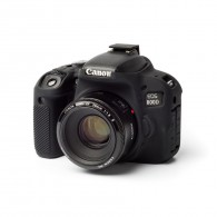 Capa / Case Silicone Para Proteção Canon Eos Rebel T7i Preta