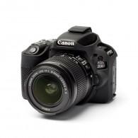 Capa / Case Silicone Para Proteção Canon SL2 / 200d Preto