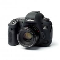 Capa / Case Silicone Para Proteção Canon EOS 6D Mark II Preto
