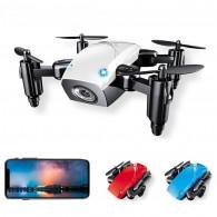 Mini Drone S9 Wifi acompanha controle remoto 50m