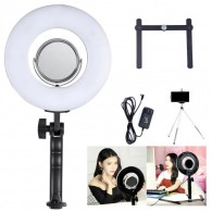 Led Ring Circular Com Espelho P/ Selfie Maquiagem