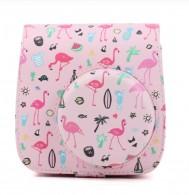 Capa / Case Proteção Para Instax Rígida Flamingo