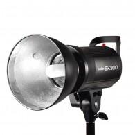 Flash Tocha Godox Sk300 Ii Digital P/ Estúdio 300w - 220v