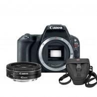 Câmera Canon Eos SL2 24,2mp + Canon 40mm F/2.8 STM + Bolsa