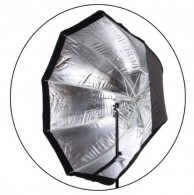 Softbox Octagonal 80 Cm Universal Flash Tocha Led