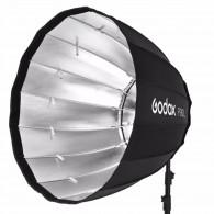 Softbox Parabólico Godox P120h Com Encaixe Bowens