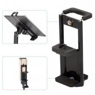 Suporte Clip Para Celular, Tablet E Ipad Rosca 1/4 P Tripé