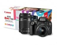 Câmera Canon T100 Premium Kit
