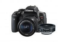 Canon T6I Com Lente 18-55mm STM + CANON 24MM STM F/2.8