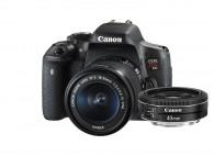 Canon T6i Com Lente 18-55mm + CANON EF 40MM F/2.8 STM
