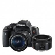 Canon T6i Com Lente 18-55mm + Canon 50mm F/1.8