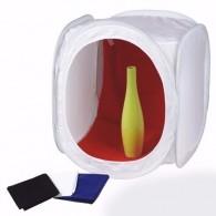 Tenda Difusora De Luz 40cm x 40cm para mini estúdio