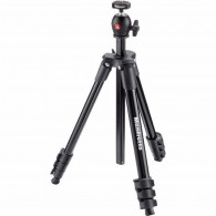 Tripé Manfrotto Mkcompactlt-bk Compact Light Com Ball Head