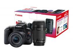 Kit Premium Canon Sl3 Com 18-55mm + 55-250mm Stm