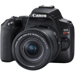 Canon DSLR Rebel SL3 com 18-55mm STM