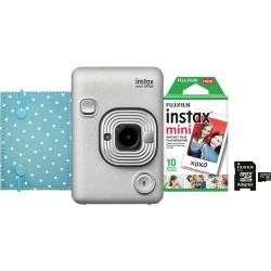 Câmera Instantânea Instax Liplay Hybrid Instant - Stone