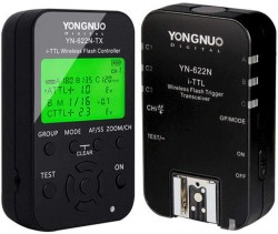 Rádio Flash Yongnuo YN-622n-Kit TLL para Nikon