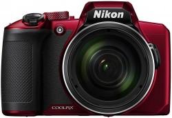 Câmera Nikon Coolpix B600 60x - Vermelha