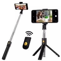 Bastão de Selfie Tripé Bluetooth Celular Tomate Mzp-110