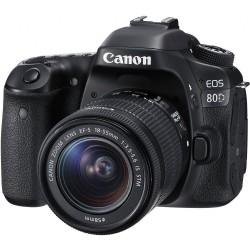 Canon 80d com 18-55mm STM