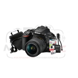 Super Kit Nikon D5600 Com 18-55mm + Tripé + Cartão 32gb + Case