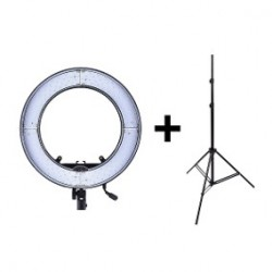 Iluminador Ring Light Led RL-12 35cm Completo Para Maquiador