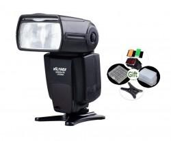 Flash Canon Nikon Viltrox Jy680a C/ Difusor Geleia E Brindes