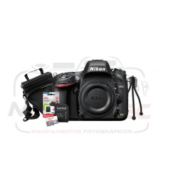 Super Kit Nikon D610 Corpo + Tripé + Cartão 32gb + Case