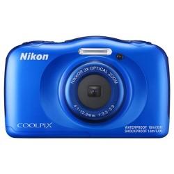 Nikon Coolpix W100 Á Prova D´agua Azul