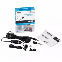 Microfone Lapela Boya BY-M1 Para DSLR/SMARTPHONE
